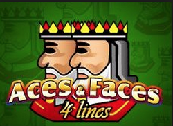 Aces And Faces 4 Line