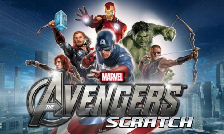 Avengers Scratch Card