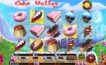 New Cake Valley Slot From Habanero